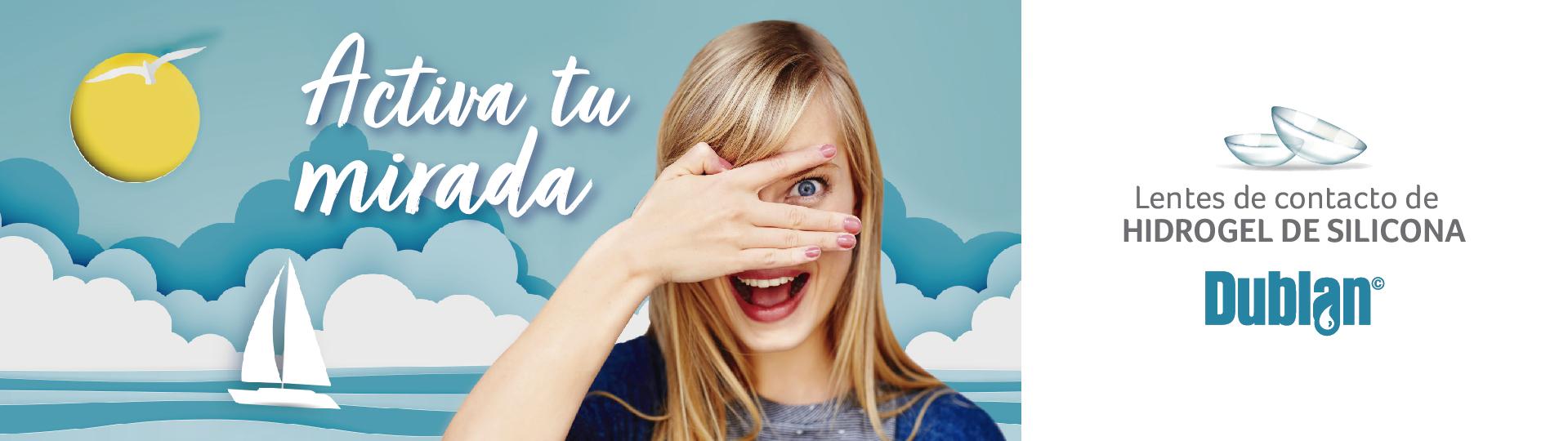 Campaña 2019 de lentes de contacto dublan en Federópticos